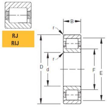 Bearing 125RIJ551 Timken