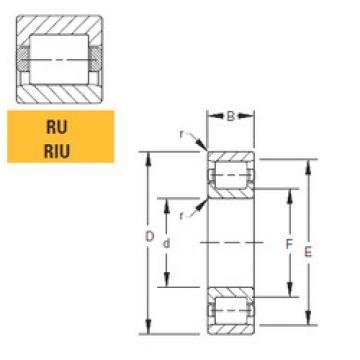 Bearing 105RU02 Timken