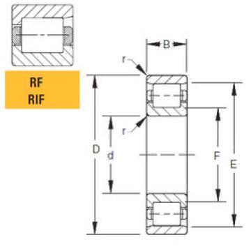 Bearing 125RIF551 Timken