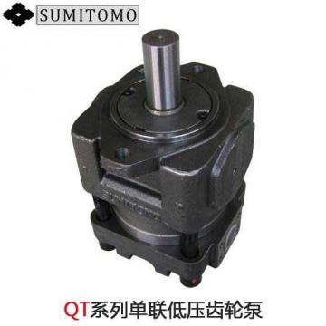 Japan imported the original SUMITOMO QT3222 Series Double Gear Pump QT3222-10-8F