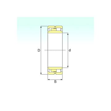 NNU 4868 K/W33 ISB Cylindrical Roller Bearings