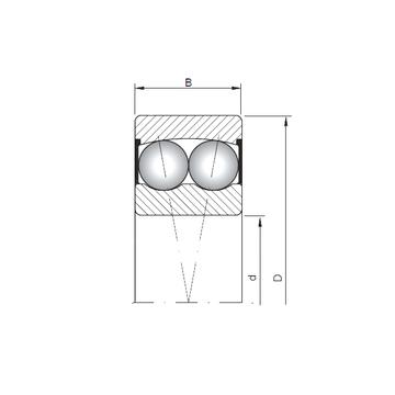 2303-2RS CX Self Aligning Ball Bearings