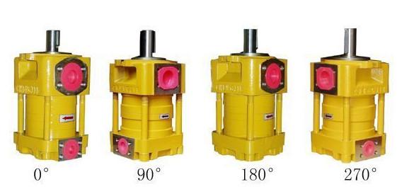 SUMITOMO  Japan imported the original QT63 Series Gear Pump QT63-125E-A