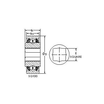 SQ108-102X AST Deep Groove Ball Bearings