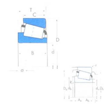 Bearing 39250/39412 Timken