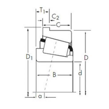 Bearing 3767/3720-B Timken