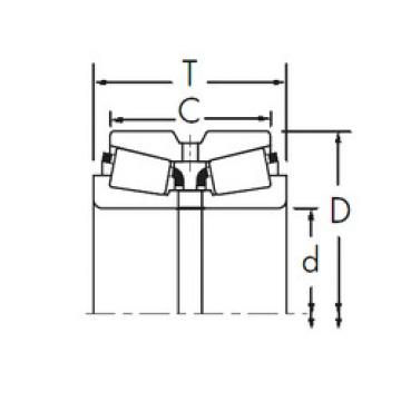 Bearing 3767/3729D+X1S-3767 Timken