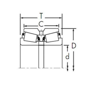 Bearing 3781/3729D+X1S-366 Timken