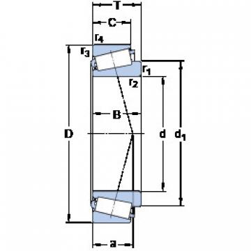 Bearing 387 A/382 A/Q SKF
