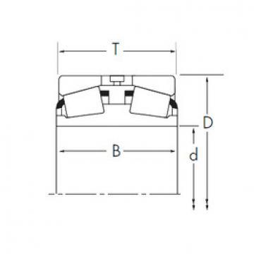 Bearing 375D/374+Y1S-374 Timken