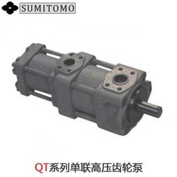 Japan imported the original SUMITOMO QT3223 Series Double Gear Pump QT3223-16-8F